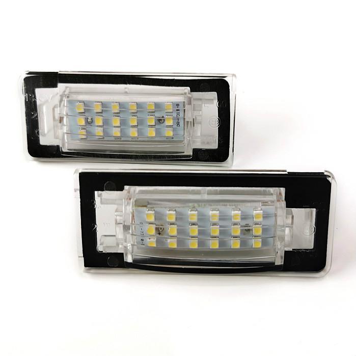 matrícula del coche LED lámparas para AUID TT 1999-2006 del precio de fábrica llevó la luz de la matrícula 13.5V 6000K