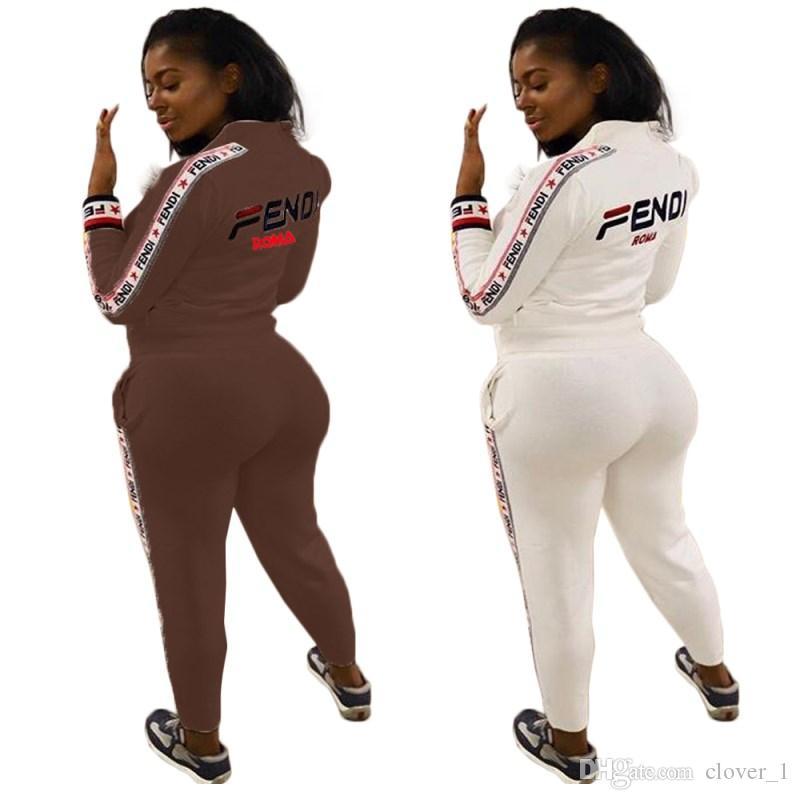 uzun kollu eşofman ceket pantolon külotlu kıyafetler eşofman sıcak klw0851 dış giyim kapşonlu get iki parçalı set eşofman spor giyim womens