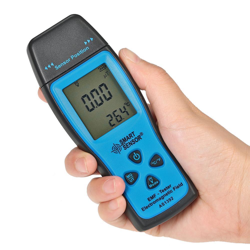 Palmare Digitale Lcd Radiometro Dosimetro Mini Emf Tester Rivelatore di Radiazione Campo Elettromagnetico Dosimetro Tester As1392 T8190619