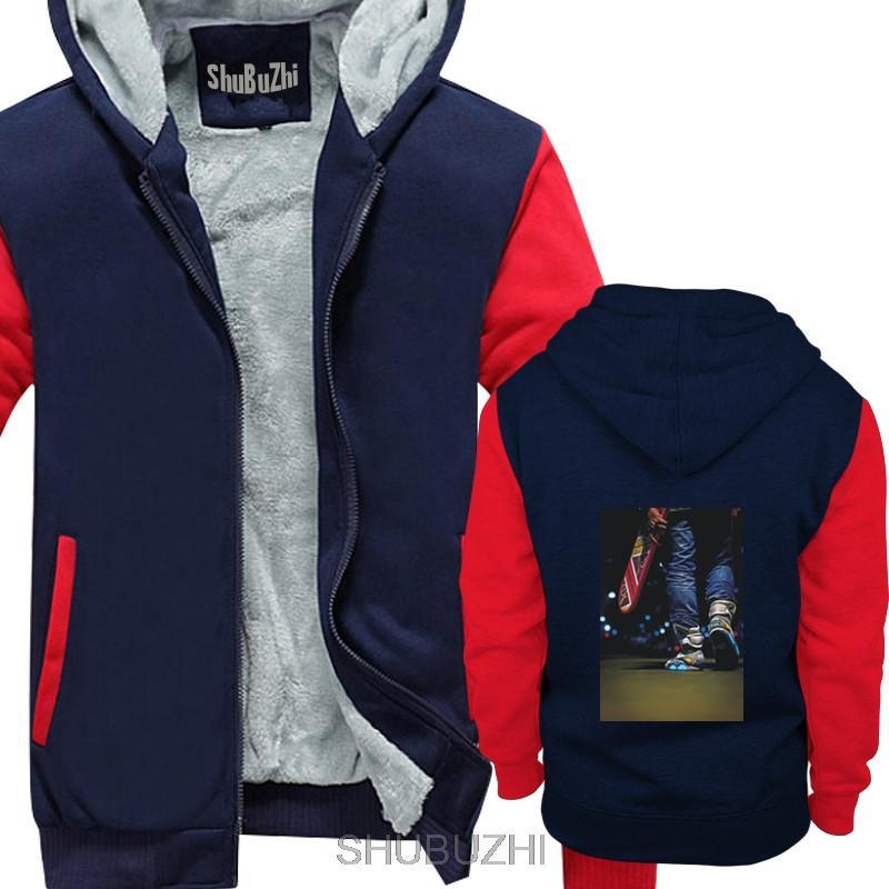 GELECEĞE GERI kalın hoodies ceket SNEAKERS HAVA MAG MICHAEL J FOX erkekler siyah sıcak ceket kış ceket sbz4158
