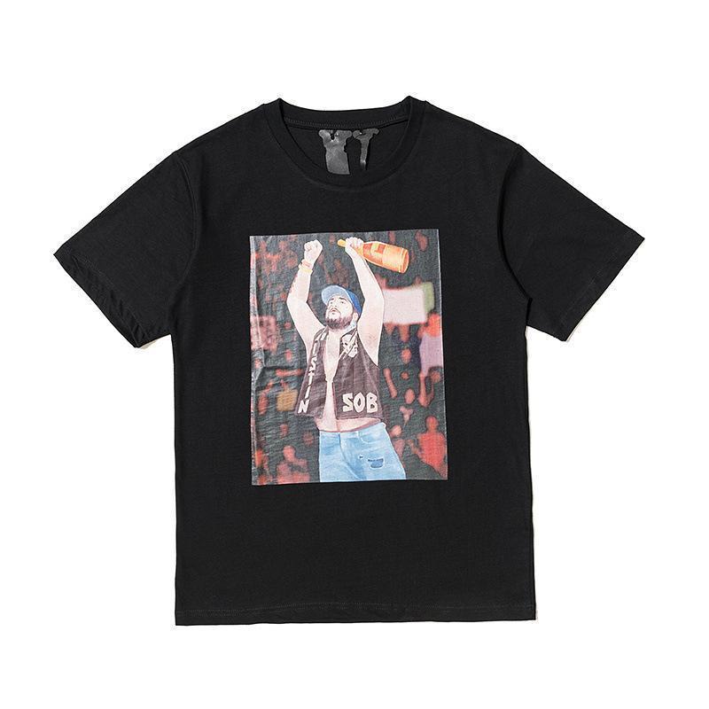 Womens tasarımcı t shirt gelgit marka vlone01 kısa kollu Arkadaş Kirli Hava Fujiwara ortak erkekler ve kadınlar ekin üst sınırlı Tişört