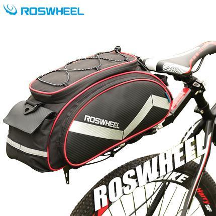 Bicycle Bag Multifunction Bike Tail Rear Bag Saddle Cycling Basket Rack Trunk