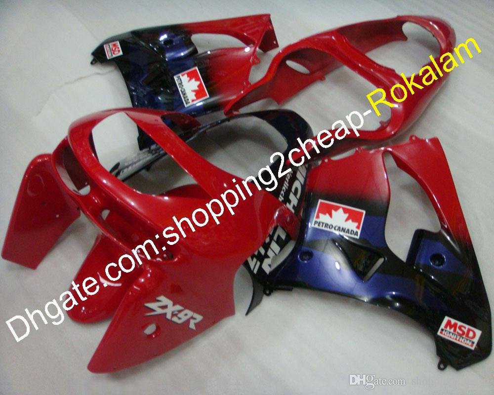 Kit de carenados ZX9R para carenado Kawasaki ZX-9R 98 99 ZX 9R ZX9R 1998 1999 ZX9R Sports MotorBike Bodywork Body Cowling Kits