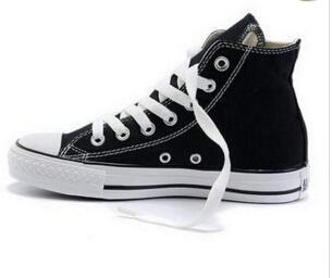 Lona de los hombres DORP ENVÍO NUEVO 35-46 Nueva unisex-top del alto de las mujeres de adulto Funcionamiento Zapatos 13 colores ató los cordones de los zapatos ocasionales de la zapatilla de deporte