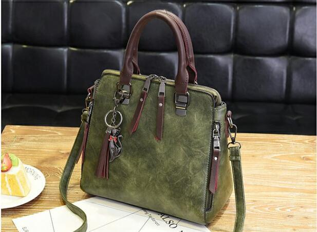 Designer-New Sale Fashion Woman Cross Body Bag New Hot Ladies Hand Bag PU Leather Simple Woman Shoulder Bag