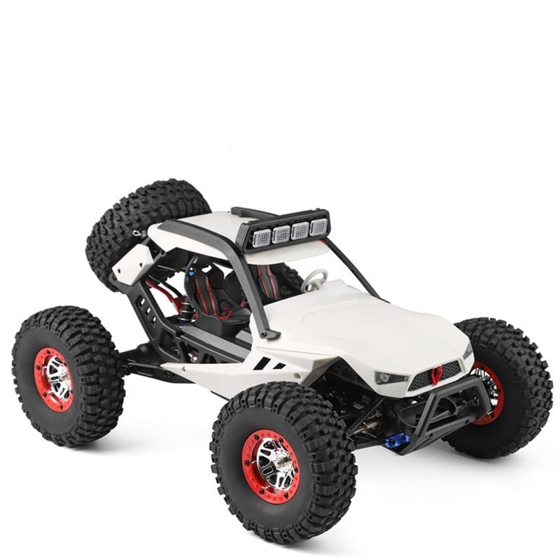 1:12 Remote Control Electric Four-wheel Climbing Vehicle with LED Light High Speed Off-road Vehicle Toys