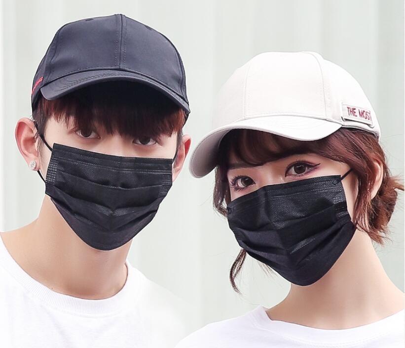 Navio livre DHL! Máscaras Máscara Facial 2 com válvula reutilizável com a respiração camadas de máscara de filtro válvula de ar Mouthrtified Folding 4 capa LWQE
