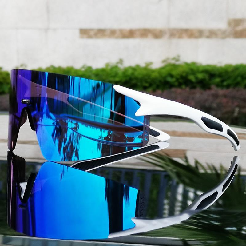 الرياضة الاستقطاب عدسة ركوب الدراجات نظارات الموضة نظارات الرجال النساء نظارات دراجة UV400 نظارات 3 عدسة Oculos دي ciclismo مع مربع