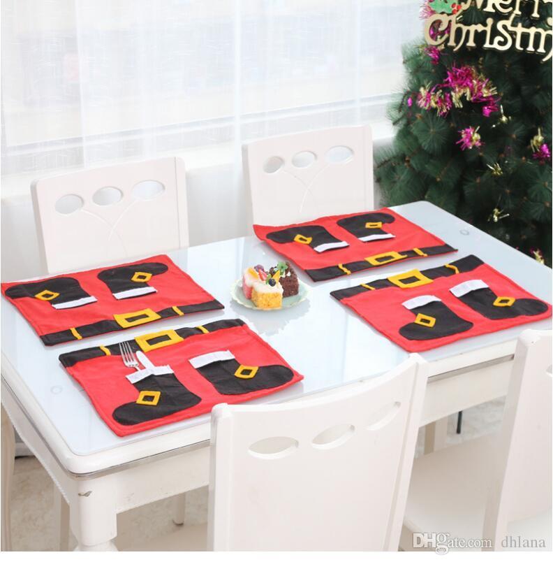 New alta qualidade sacos de presente meia do Natal Xmas Meia do Natal decorativo Detalhes no meias sacos de árvore WC assento cushion7