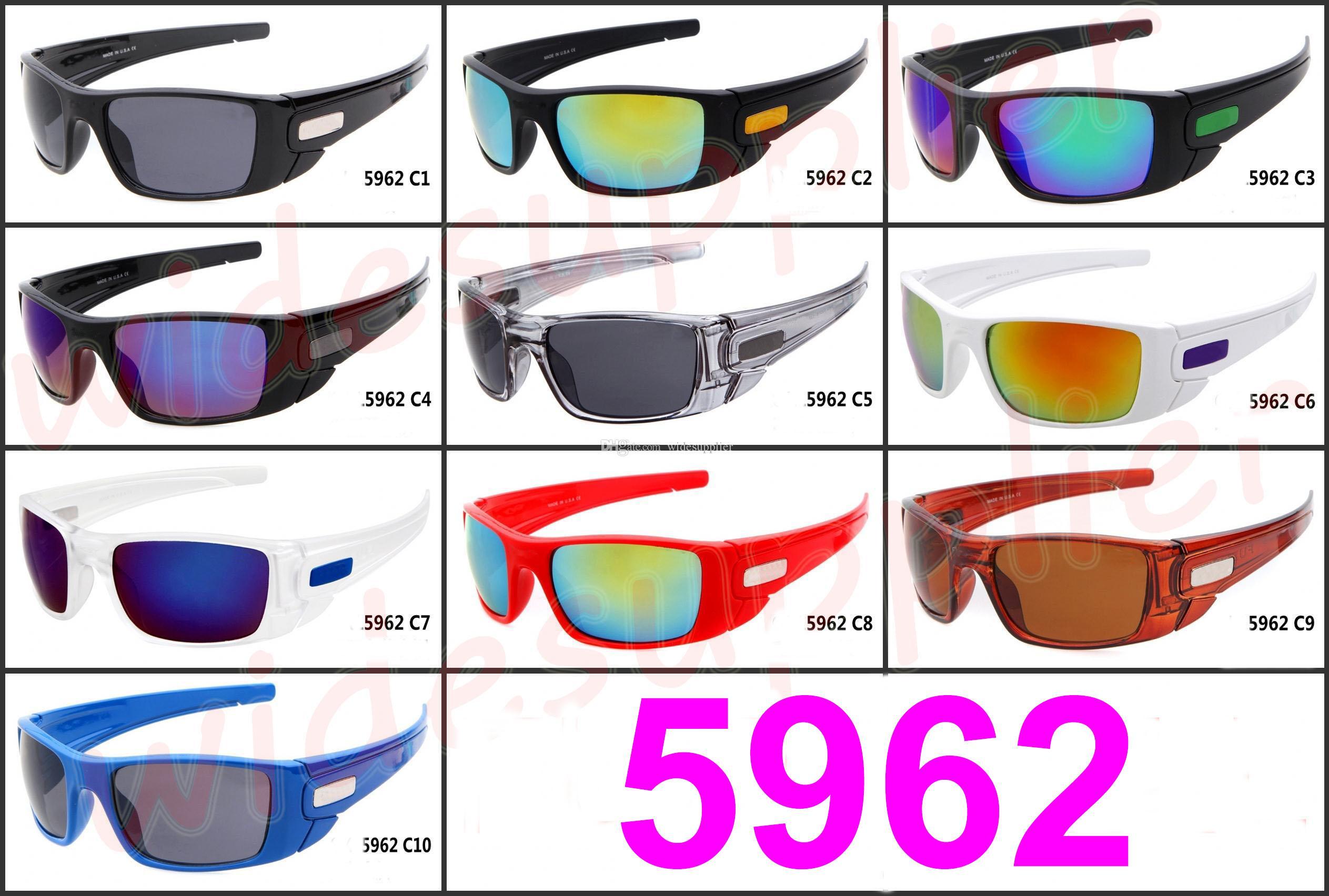 موك = 10PCS موضة جديدة الشحن إطار كبير نظارات شمس ماركة شعبية ركوب الدراجات الرياضة في الهواء الطلق نظارات شمسية نظارات شمسية مجانية