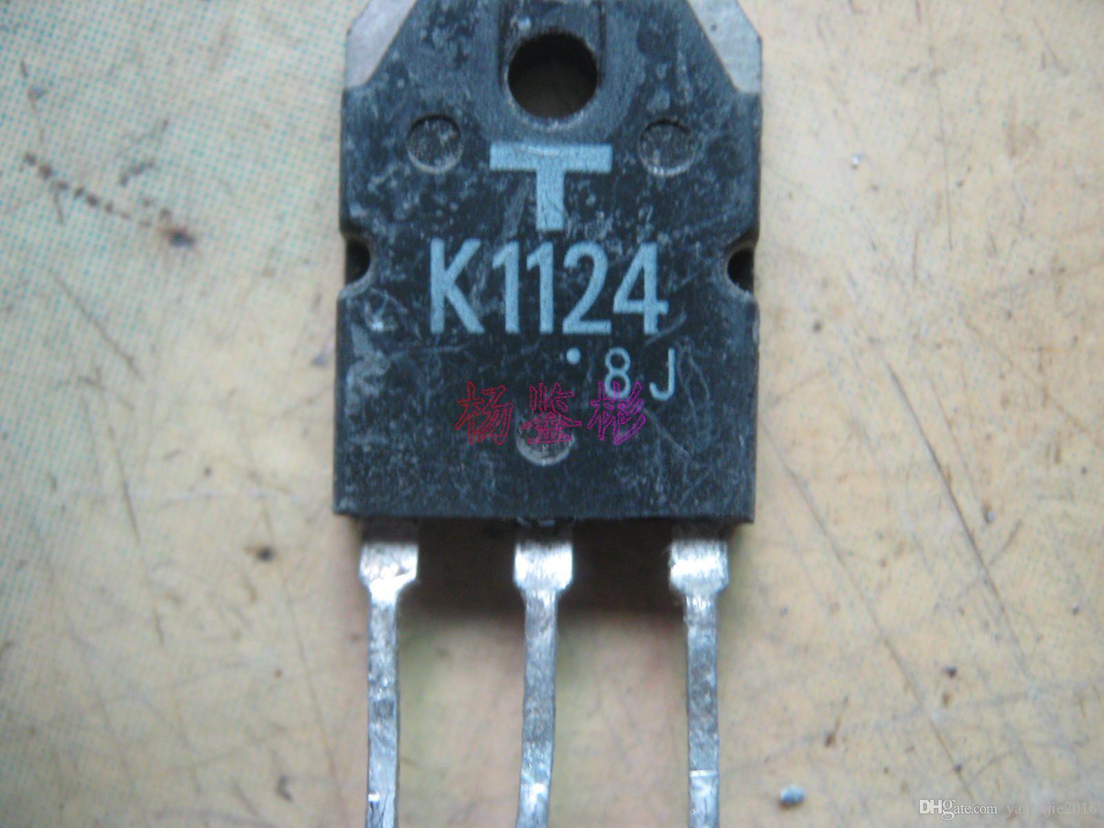 Оригинальный полевой транзистор 2SK1124 K1124 MOSFET TO-3P TO-3P Test Ok