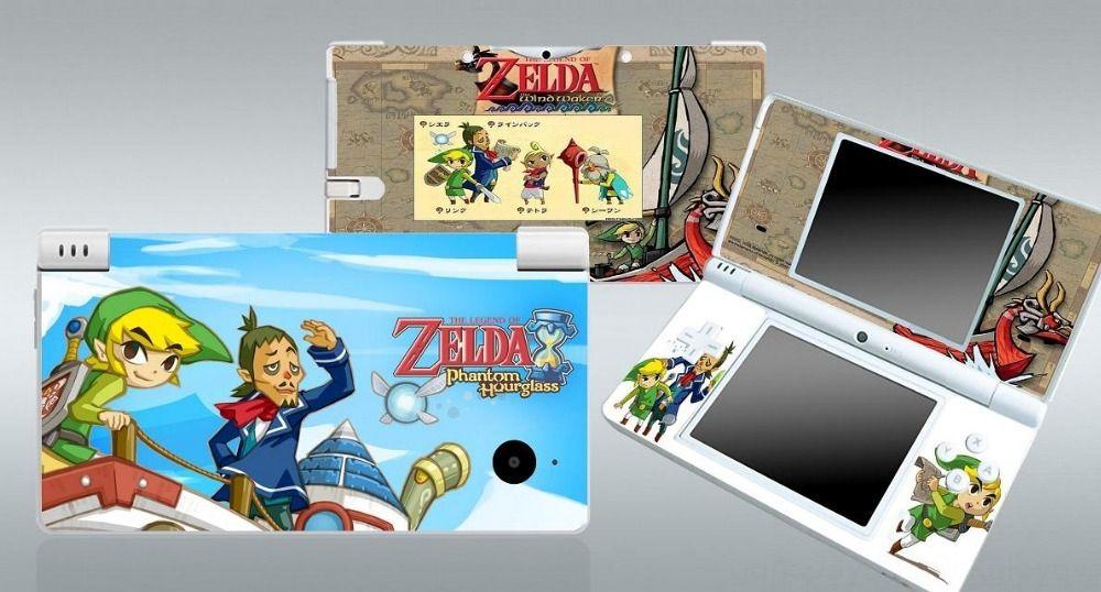 120 Vinyl Skin Sticker Protector per Console Tatuaggi accessori del gioco Nintendo DSi pelli Stickers 120 vinile della pelle Sticker Protector per