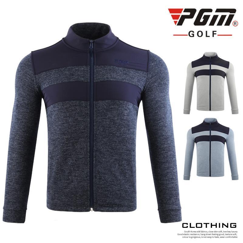 PGM Golf Jacket Men Tennis de baseball Vêtements Manteau Veste Homme coupe-vent Automne Hiver chaud coupe-vent sport D0830