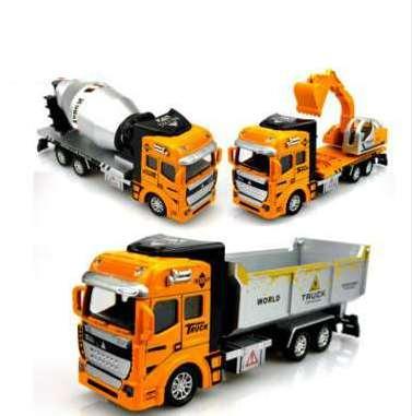 Модель автомобиля Самосвал Инженерная серия Красиво изготовленные детские игрушки дарят детям лучший подарок