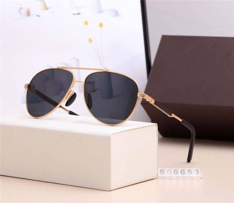 صيف جديد رجل إمرأة نظارات للجنسين 20SS الأزياء شاطئ حملق النظارات الشمسية نموذج 806653 UV400 خمسة اللون أعلى جودة