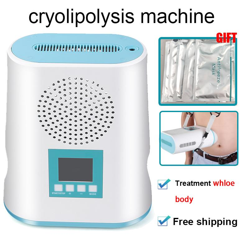 2019 Mini cryolipolysis machine minceur gel graisse corporelle de gel de graisse cryothérapie de levage de la peau Forme Équipement pour un usage domestique