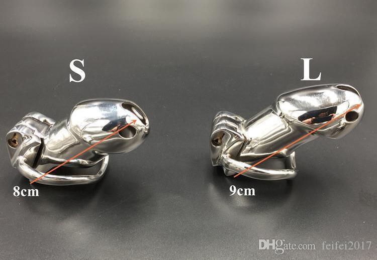 Нержавеющая новое кольцо 2021 клетчатка открывающееся дизайн отверстие вентиляционное устройство Sissy Bellage Seal Chastity 01 секс 316 стальные игрушки HGNXD