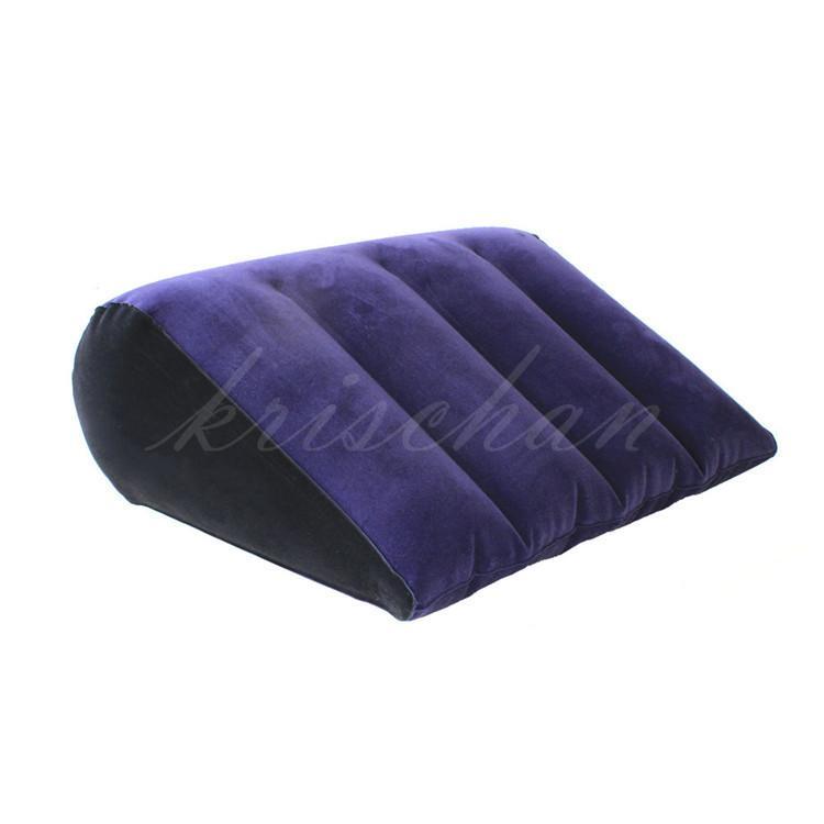 Floccaggio Cuscino gonfiabile per aiuti sessuali per donne Amore Posizione Cushione Mobili per sesso Divano erotico Giochi per adulti per coppie
