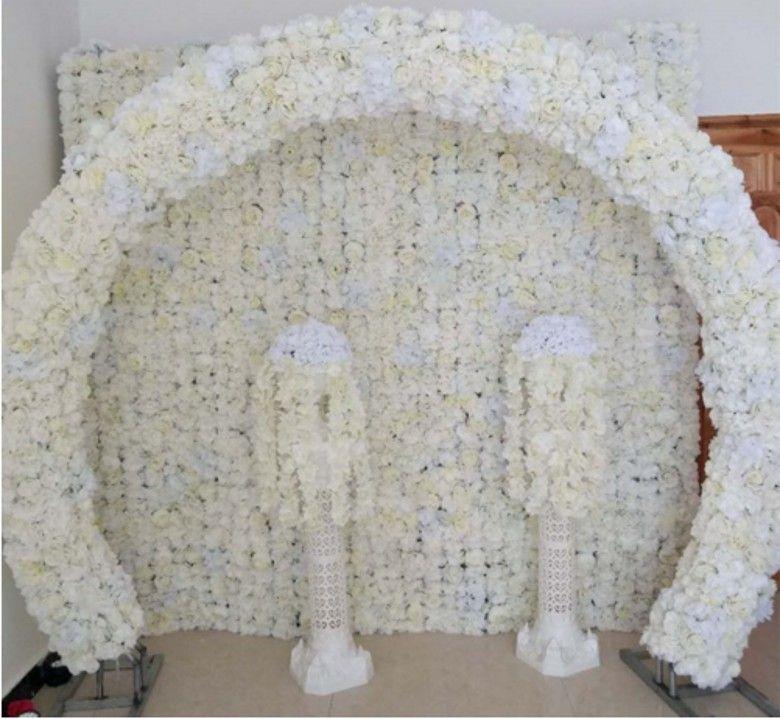 20x 50 cm Düğün Dekorasyon Kemer Çiçek Satırları Parti Koridor Dekoratif Yol Centerpieces Malzemeleri 10 adet