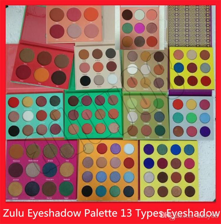 2019 العين ماكياج تنكر لوحة كليوباترا شميرثرشرمات عينيه zulu عينيه لوحة 16 اللون 12 اللون 9 اللون 6 ألوان استحى