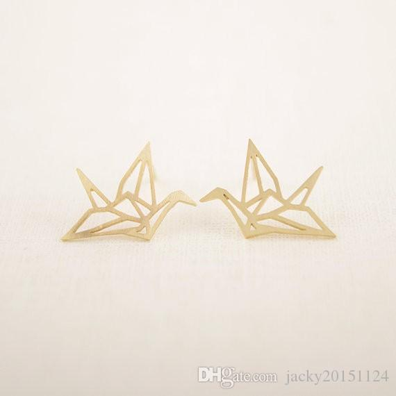 Origami Crane Stud Earrings | National Gallery of Art Shops | shop ... | 570x570