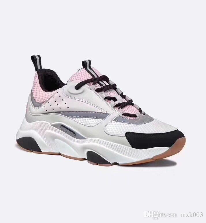 2019 neue, qualitativ hochwertige B22 Herren-Sportschuhe Freizeitschuhe Mode Damen Französisch Designer-Marke beiläufige Schuhe 35-45 nv02