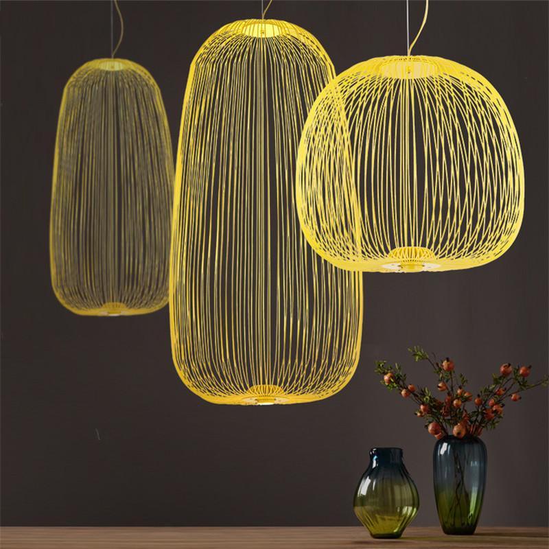 Foscarini Spokes 1// 2 Pendant Lamp Metal Chandelier Ceiling lamp Fixture New