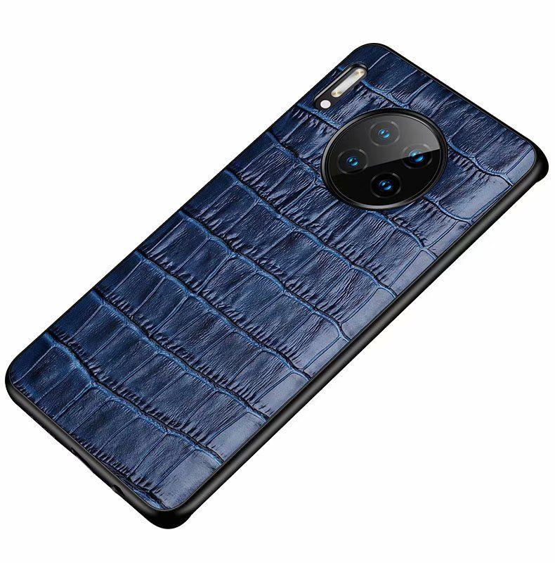 Для Huawei Mate 30 Pro Case Благородный задняя крышка люкс Красочные Ультратонкий Оригинальные Подлинная Кожаный чехол для Huawei Ascend Mate 30 Pro