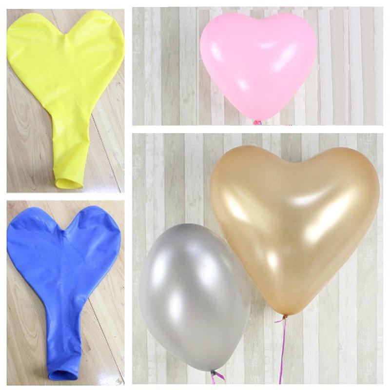 36 Inch Wedding Love Party Balloons Heart Shape Big Latex