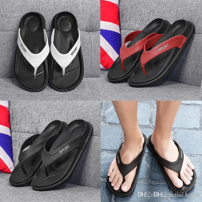 frete grátis desenhador sandálias novo verão Homens flip-flops Praia Chinelos sapatos respirável Praia Chinelos EVA Casual Massagem Slipper