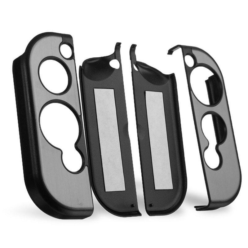 Studyset alluminio duro Custodia protettiva antiscivolo coperchio di protezione antiurto per console di gioco e maniglie