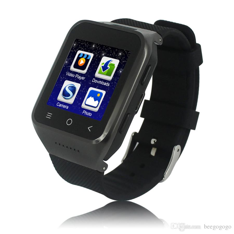Phone Watch Built-in Android 5.1 OS Dual Core CPU 3G Smart Phone 1G+16G 2.0MP Camera Watch Supoort SIM Card Shipping Free to Brazil Turkey