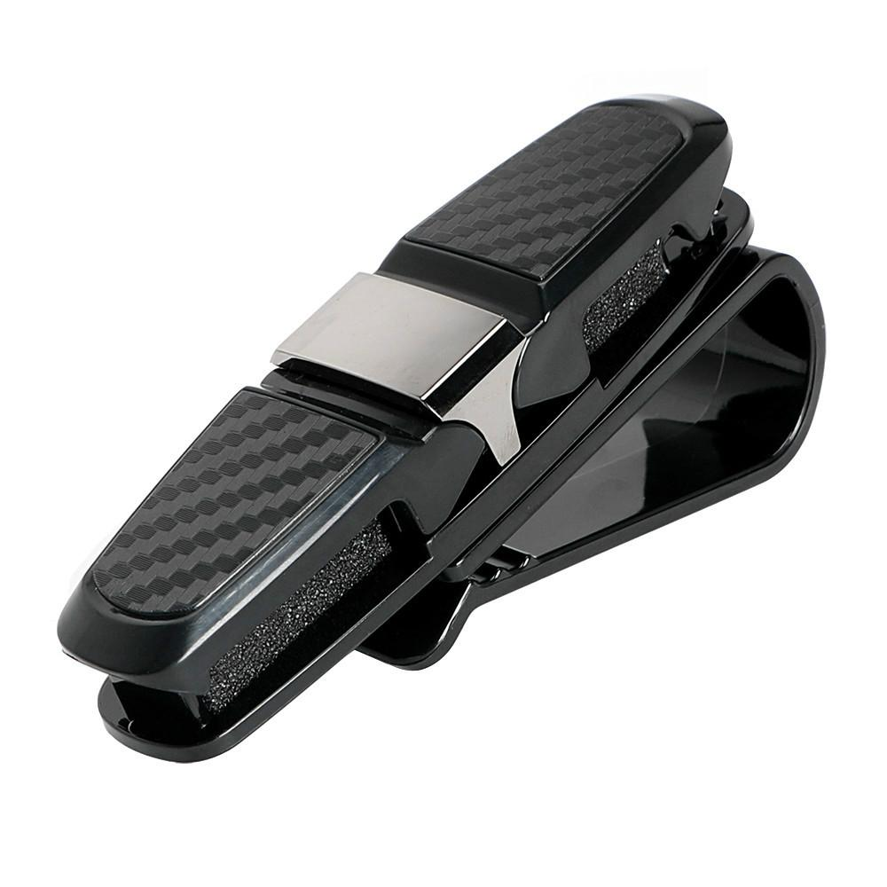 Auto-Masken-Sonnenbrille-Halter-Klipp Universal Black Ticket-Karte Clamp Fastener Cip Auto Brillenetui Portable (Retail)