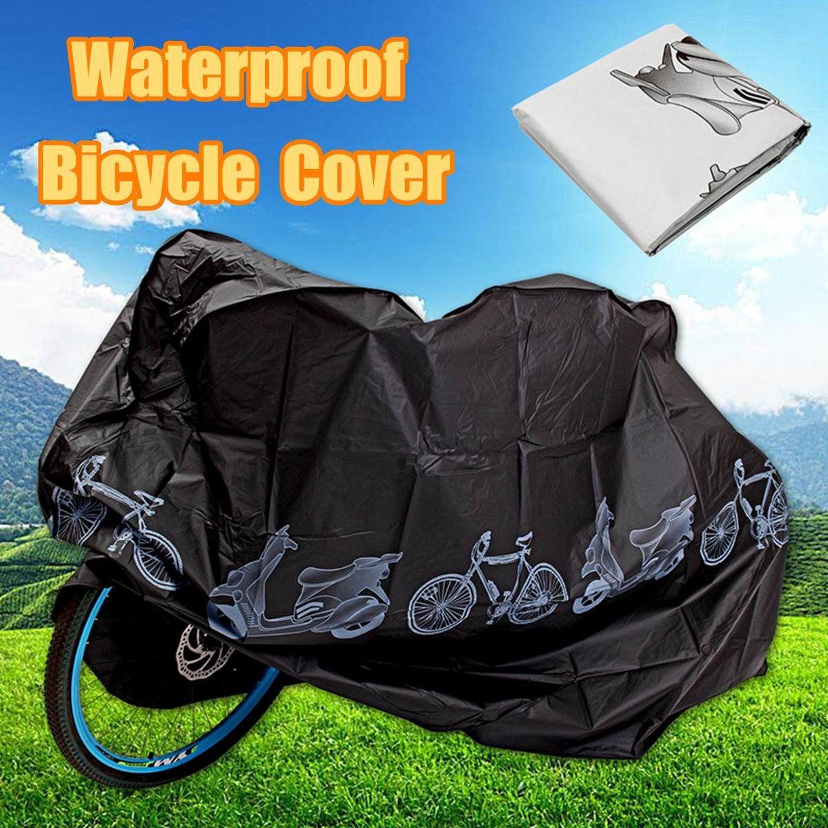 Universale biciclette a pioggia e polvere copertura della prova impermeabile Protector UV telo coprimoto accessori per la bici elettrica del motorino del motociclo