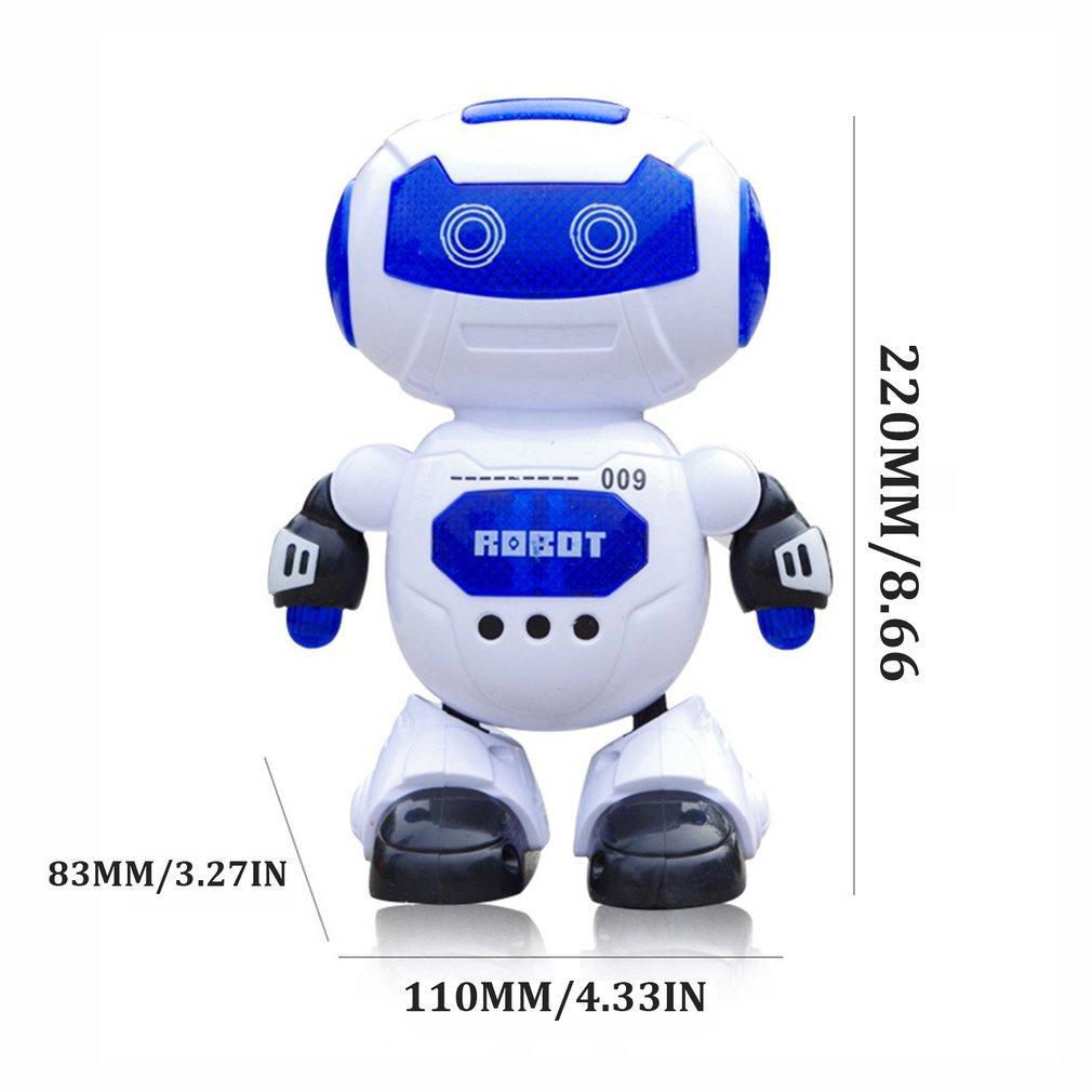 Juguetes para niños Danza y Juguetes eléctricos Hyun baile del robot giratoria de la música ligera de Música Robot Acción Niños