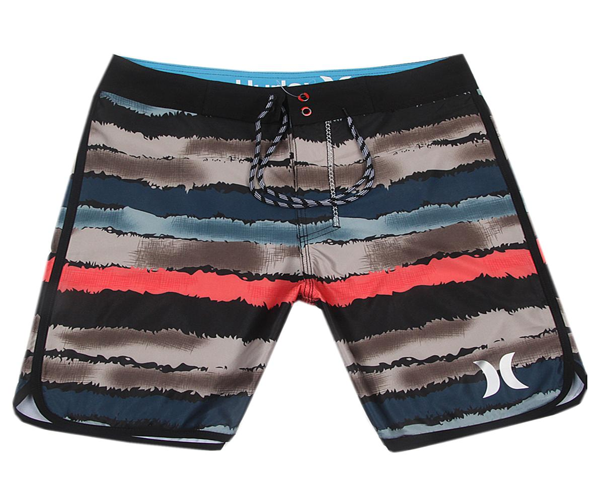 NEW Awesome Spandex Fabric Relaxed Mens Swimwear Swimtrunks Swim Pants Quick Dry Surf Pants Loose Board Shorts Bermudas Shorts Beachshorts
