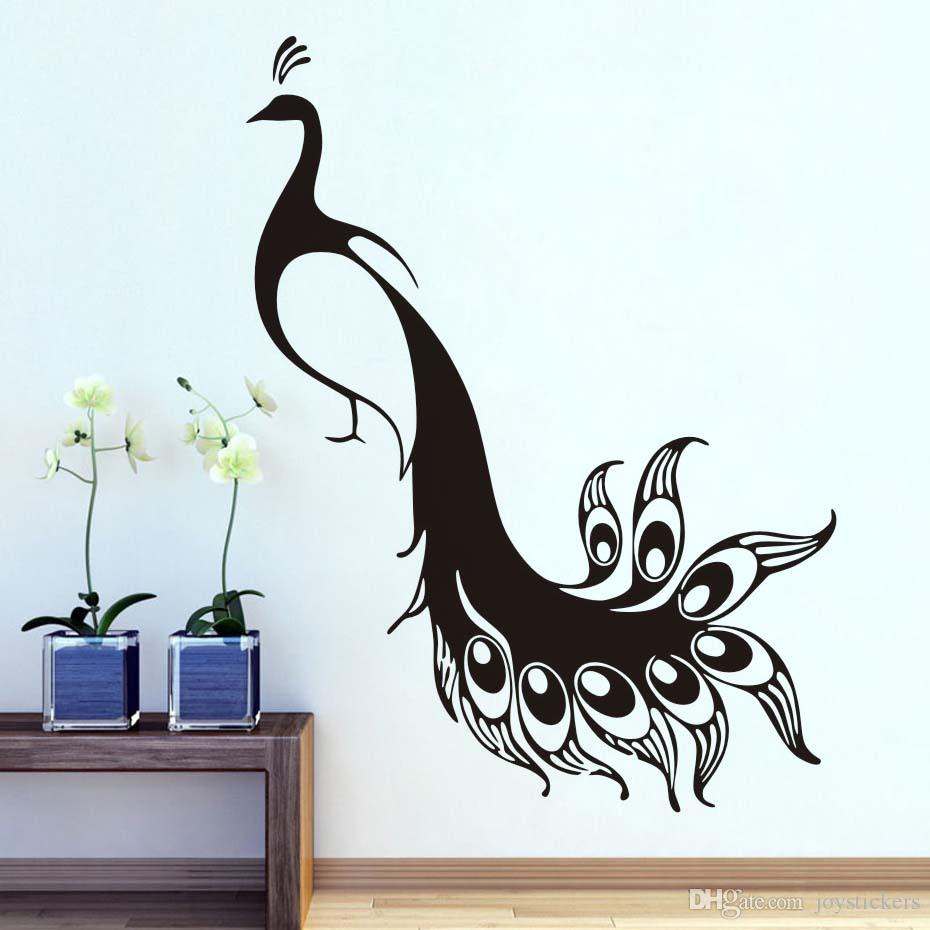 Bird Animals Peacocks Diy Wall Sticker For Kids Rooms Wall Decor Wall Art Decals Wallpaper Stickers Home Decoration Accessories Wall Decor Stickers