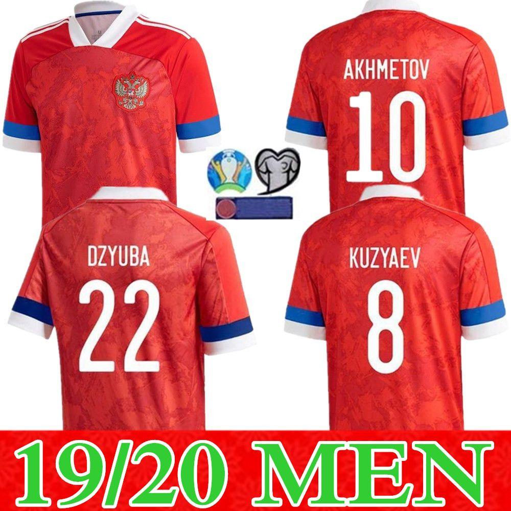 nouveau 2019 2020 Russie Soccer Jerseys 10 ARSHAVIN MIRANCHUK 18 Zhirkov 21 Erokhin 23 Kombarov Smolov Homme Football Shirt