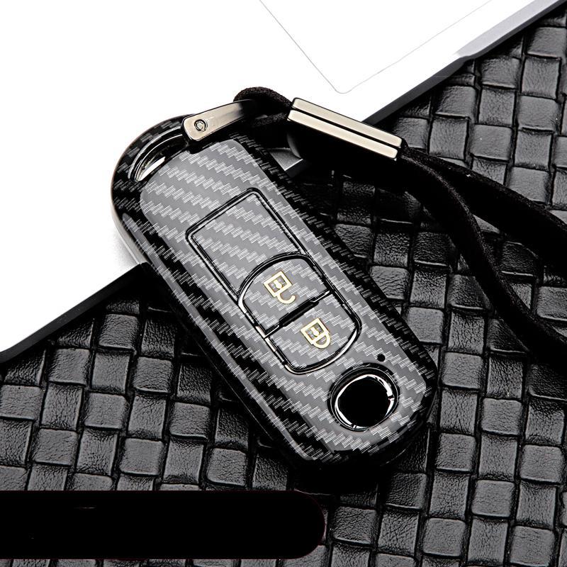 ABS caso llave del coche de plástico para 2 3 5 6 CX-3 CX-4 CX5 CX-7 CX-9 Atenza Axela MX5 CX5 / coche CX5 styling nuevo
