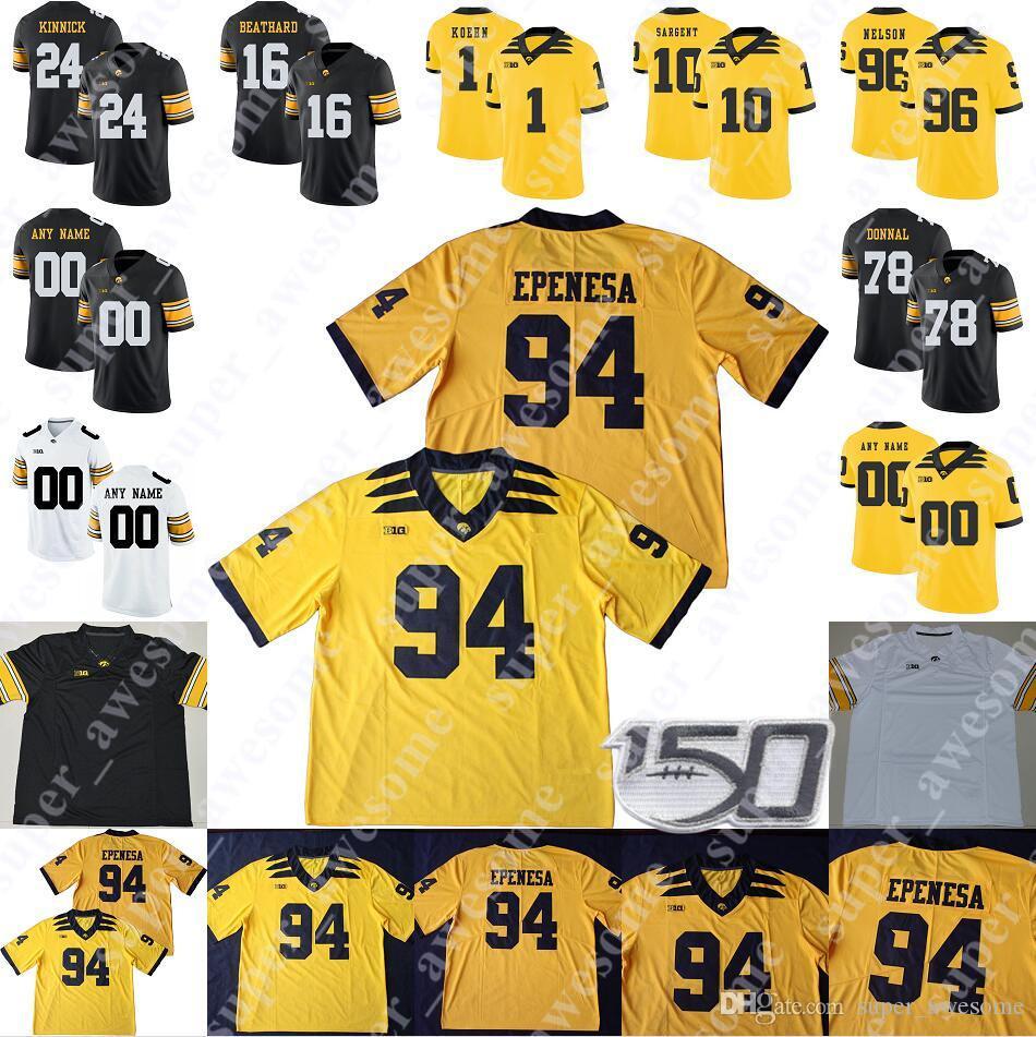 2021 Iowa Hawkeyes Jersey Adrian Clayborn 79 Bryan Bulaga 44 Clark ...