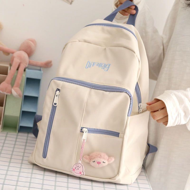 Neue kleine frische weibliche Rucksack für Mädchen Japanische nette Schultasche für Teens Schüler Rucksack Frauen 2020 Damen Bookbag