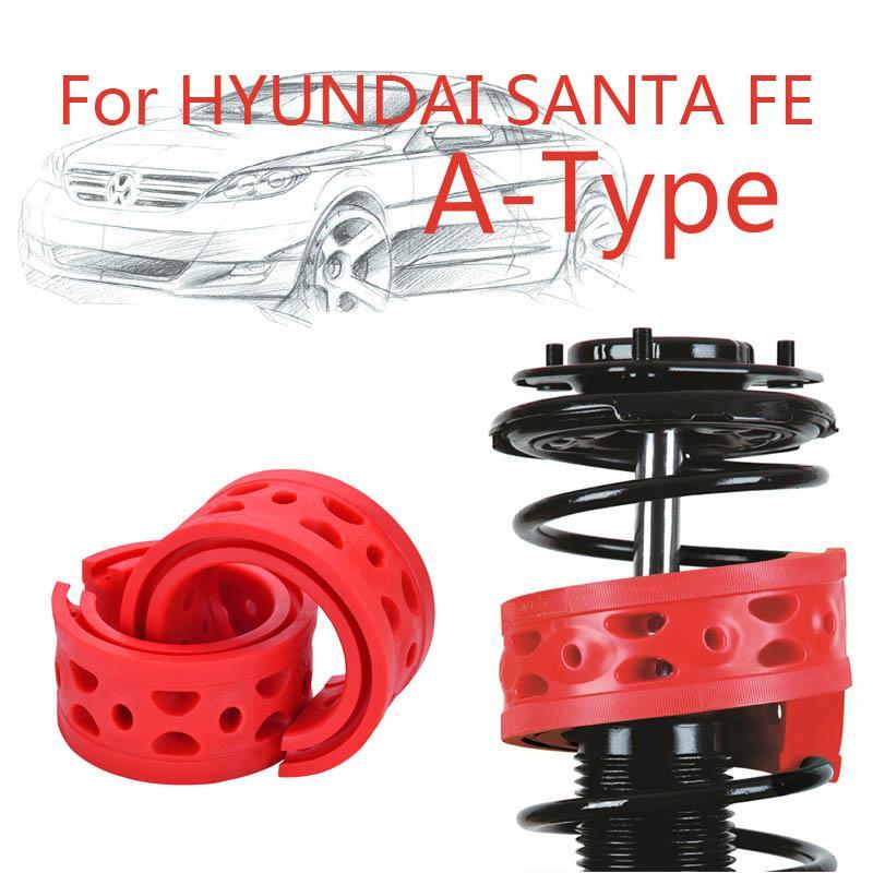 Jinke 1 pair Ön Şok SEBS Size-A Tampon Hyundai Santa Fe Için Güç Yastık Emici Bahar Tampon