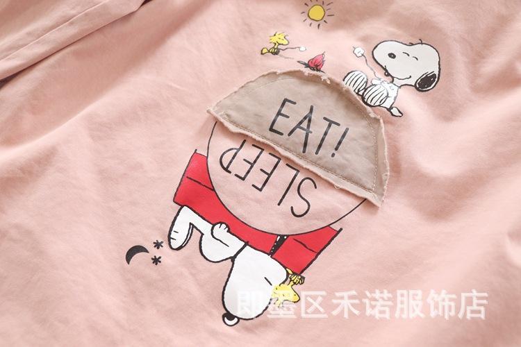 2020 Sonbahar Yeni Kore Stil Çocuk Giyim Kız Kapşonlu Ceket Karikatür Çocuk Hayvan Baskı Casual Windproof Trençkot