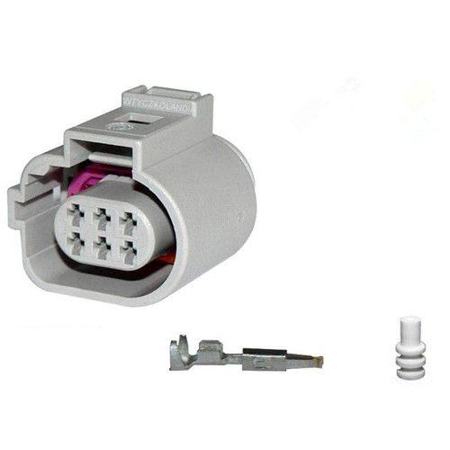 5/10/20/50/100pcs/lot 6-Way 6 Pin Connector Plug For VW EGR 1J0 973 713 G 1J0973713G 42121200 car