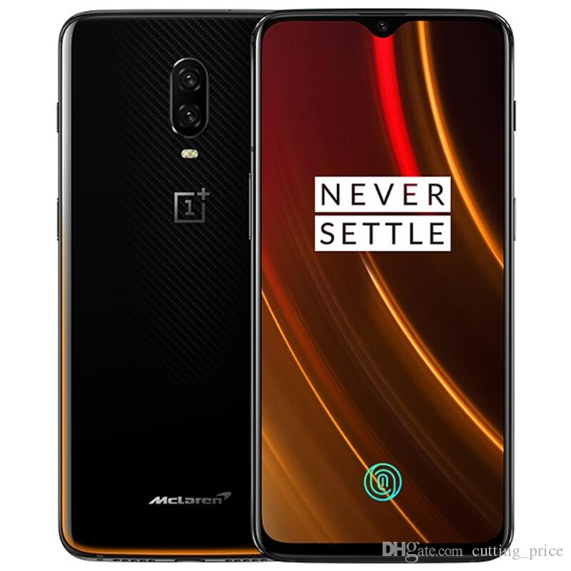 "Original Oneplus 6T McLaren 4G LTE Cell Phone 10GB RAM 256GB ROM Snapdragon 845 Octa Core Android 6.41"" 20MP Fingerprint ID NFC Mobile Phone"