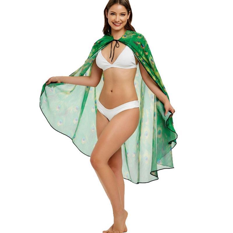 Beach Swimsuit Smock allentata camicette bikini Cover-Up Women Costume da bagno Estate Saida de banho praia tunicas # y3