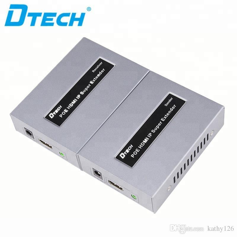Sıcak öğe IR uzaktan yüksek hız ve istikrarlı iletimi HD 1080P 120 HDMI POE IP genişletici kontrol