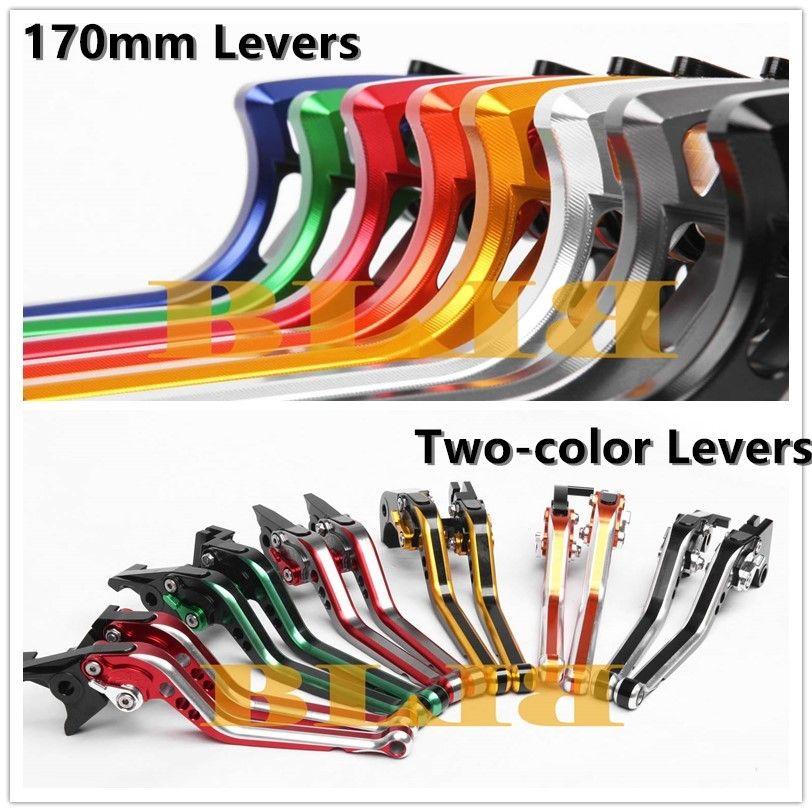 Для BONNEVILLE / SE / T100 / Black 2006-2015 ЧПУ Мотоциклетная муфта тормоза 170 мм рычаги и двухцветный рычаг Два стиля регулировки