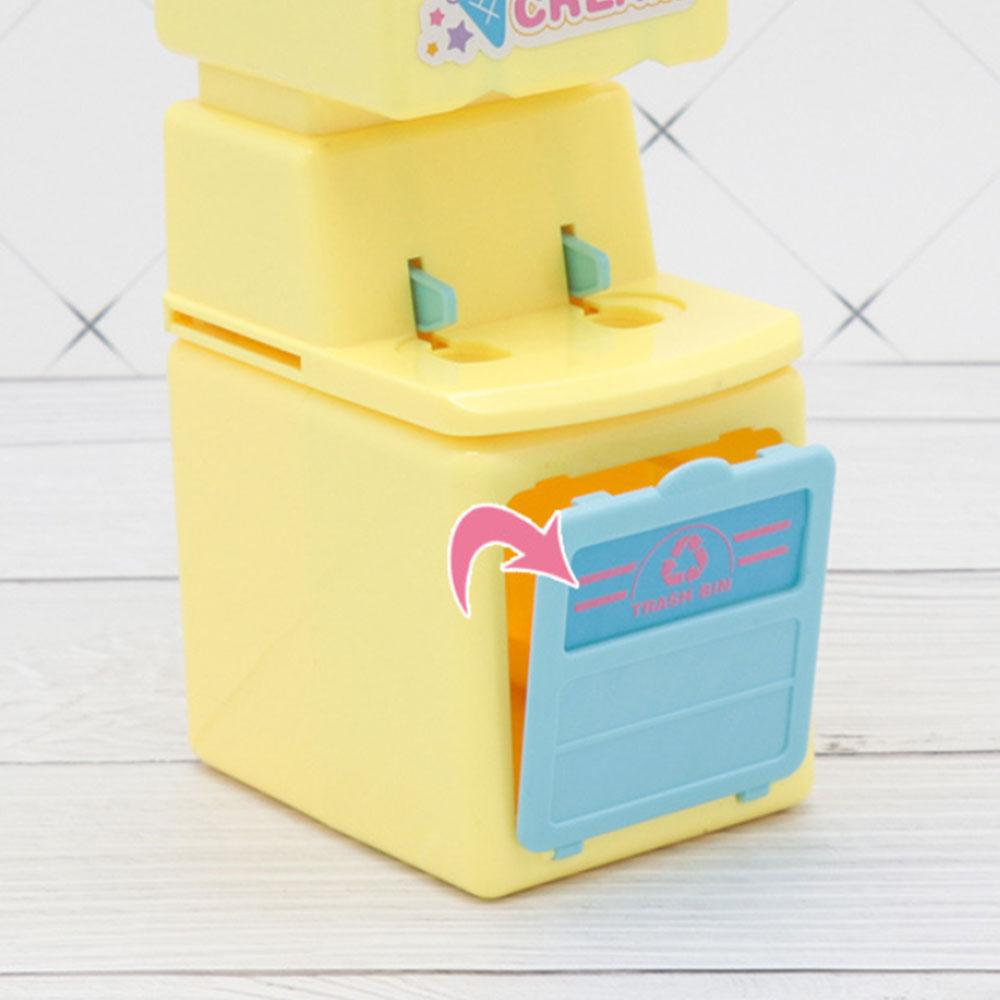 Boy Girl Baby Play House Cartoon Toy Simulation Ice Cream Machine Simulation Dessert Children Fun Plastic Toy Gift Develop Habit