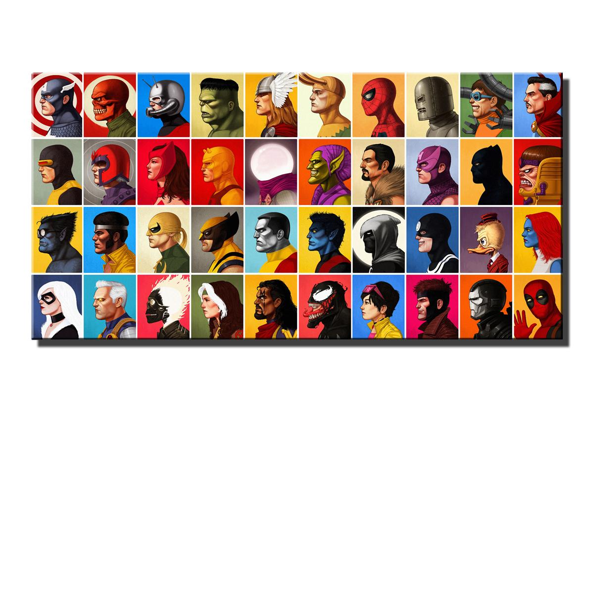 Amazing comic hero,HD Canvas Printing New Home Decoration Art Painting/(Unframed/Framed)